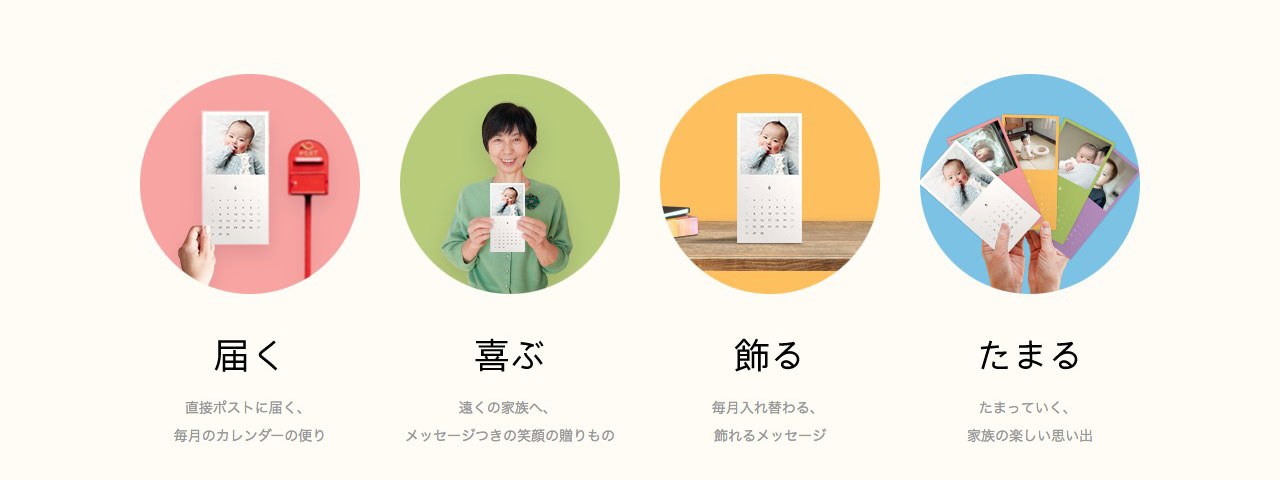 レターのスクリーンショット@complesso.jp