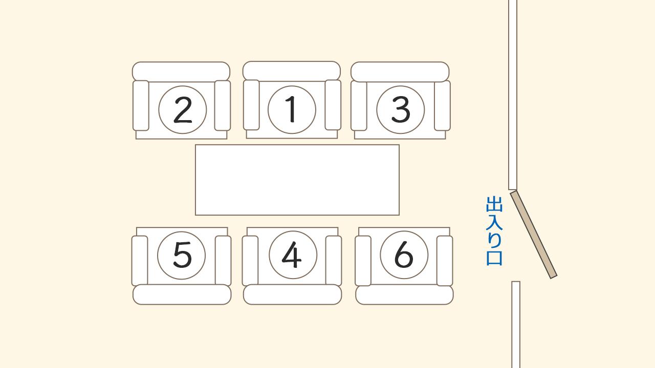 1人掛けの椅子の場合イメージ@complesso.jp