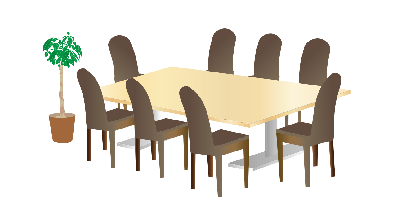 会議・打ち合わせの席次・席順についてまとめました。上座と下座は大事なビジネスルールでマナーです。