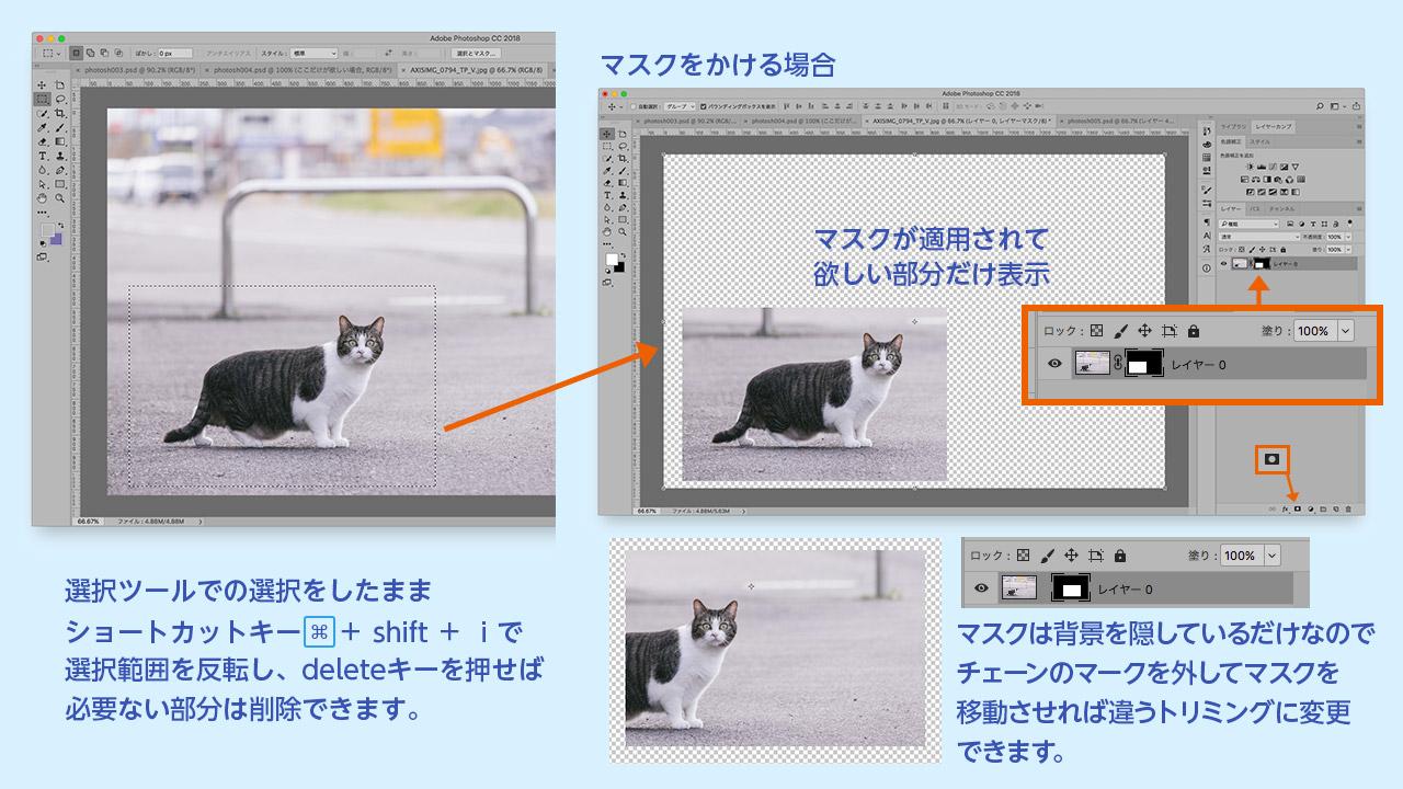 長方形選択ツール使い方Photoshopの切り抜き方法まとめ@complesso.jp