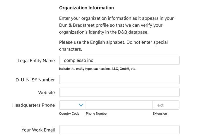 Apple Developer 法人アカウントの取得の仕方
