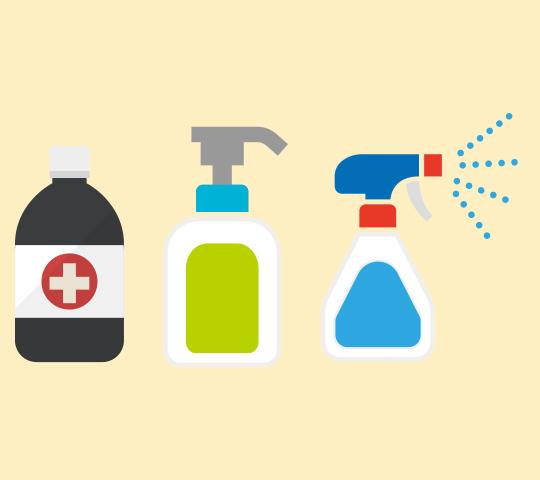 滅菌・殺菌・ 除菌・消毒・抗菌の違い