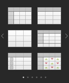 シートへ表を追加する方法