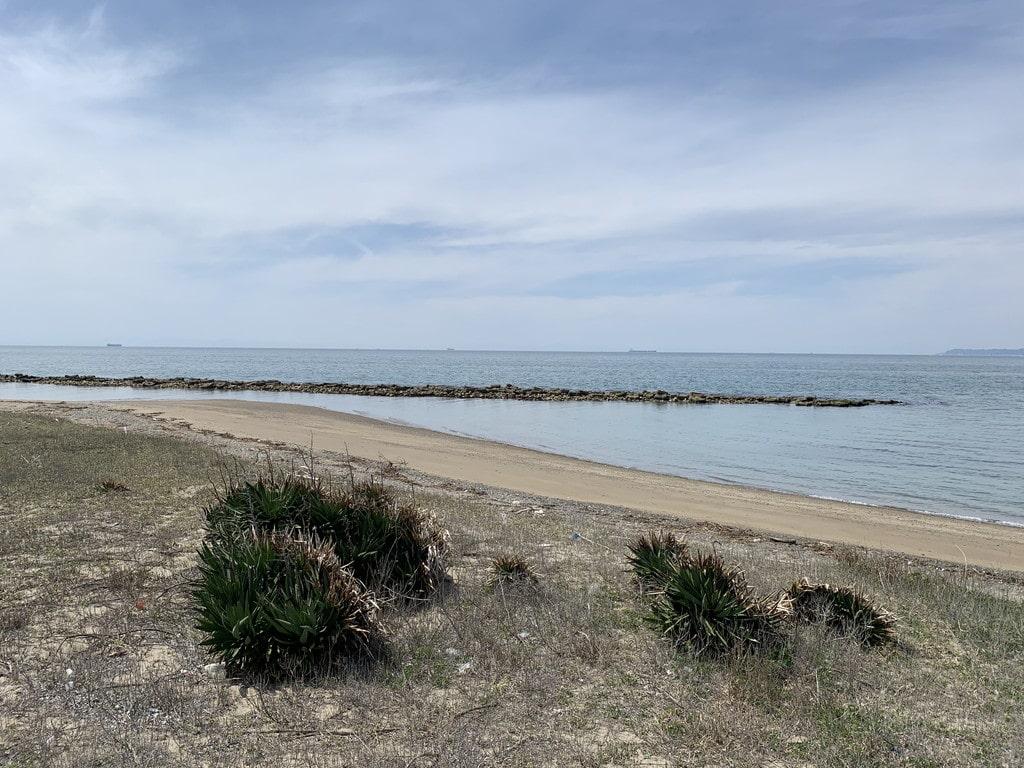 西の浜海岸