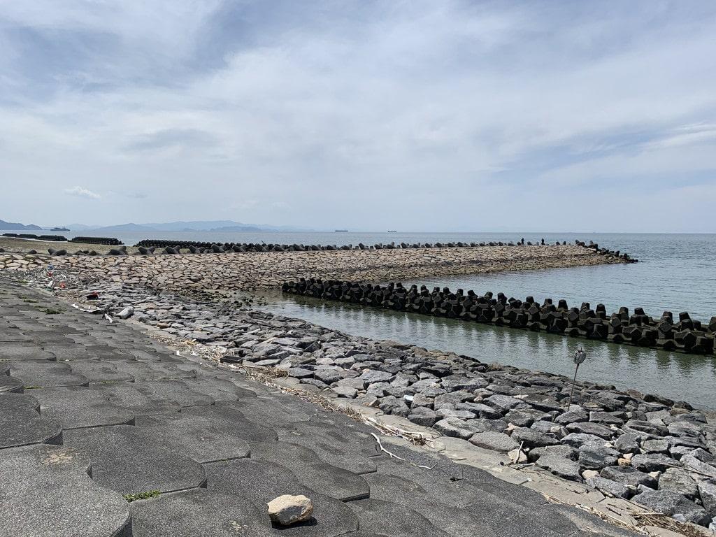石積み堤防