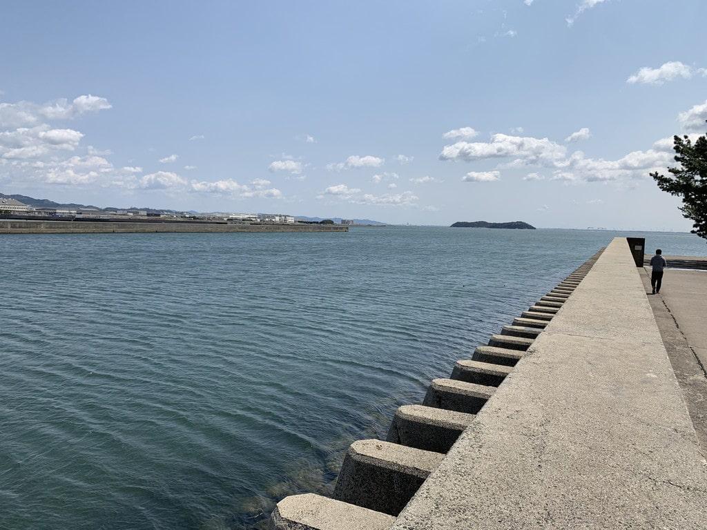 佐奈川河口