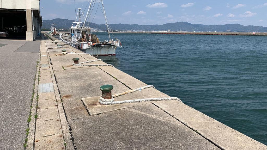 形原漁港漁港岸壁