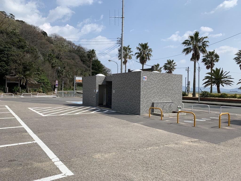 西浦海水浴場トイレ