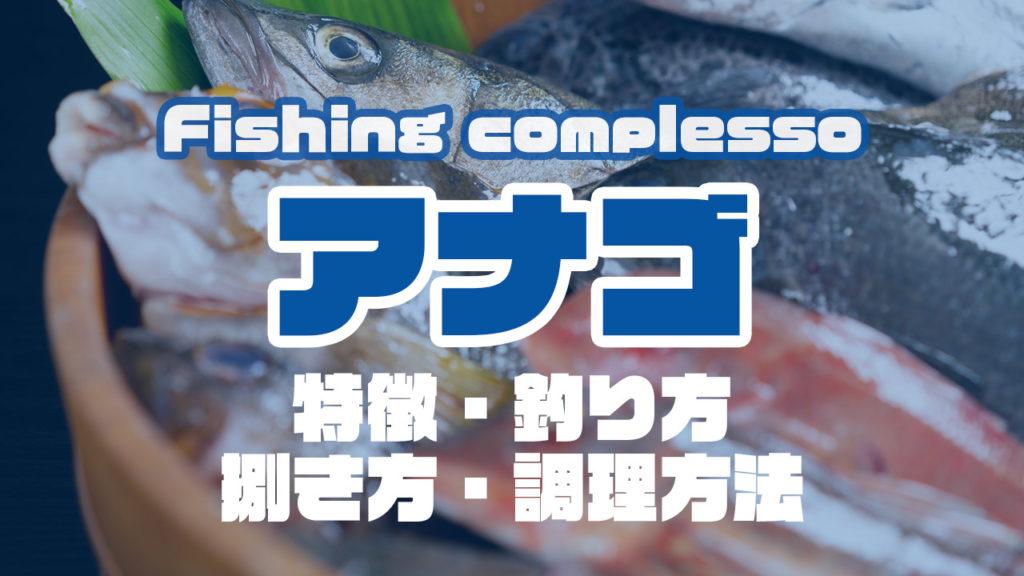 アナゴって何!?特徴・釣り方・捌き方・調理方法とことん解説!