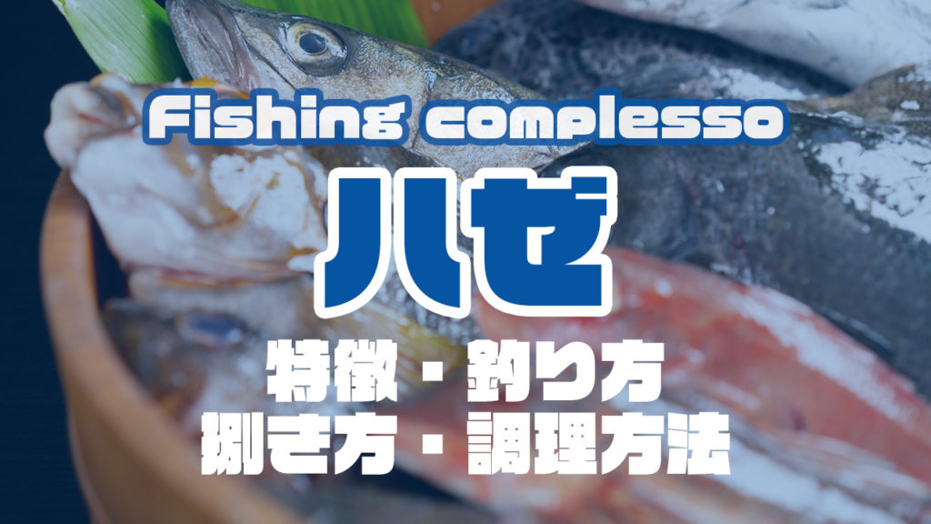 ハゼって何!?特徴・釣り方・捌き方・調理方法とことん解説!