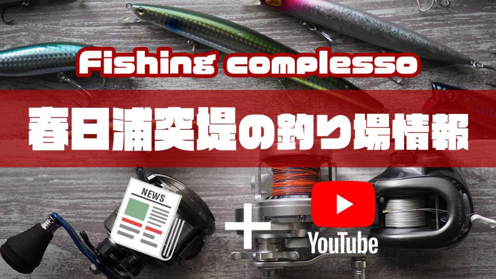 春日浦突堤の釣り場情報【Fishing complesso 東海の釣り場情報】