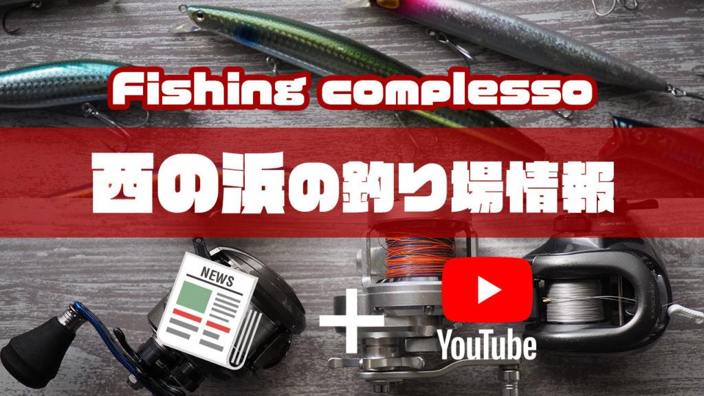 西の浜の釣り場情報【Fishing complesso 愛知県の釣り場情報】