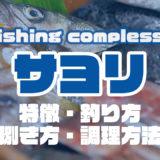 サヨリって何!?特徴・釣り方・捌き方・調理方法とことん解説!