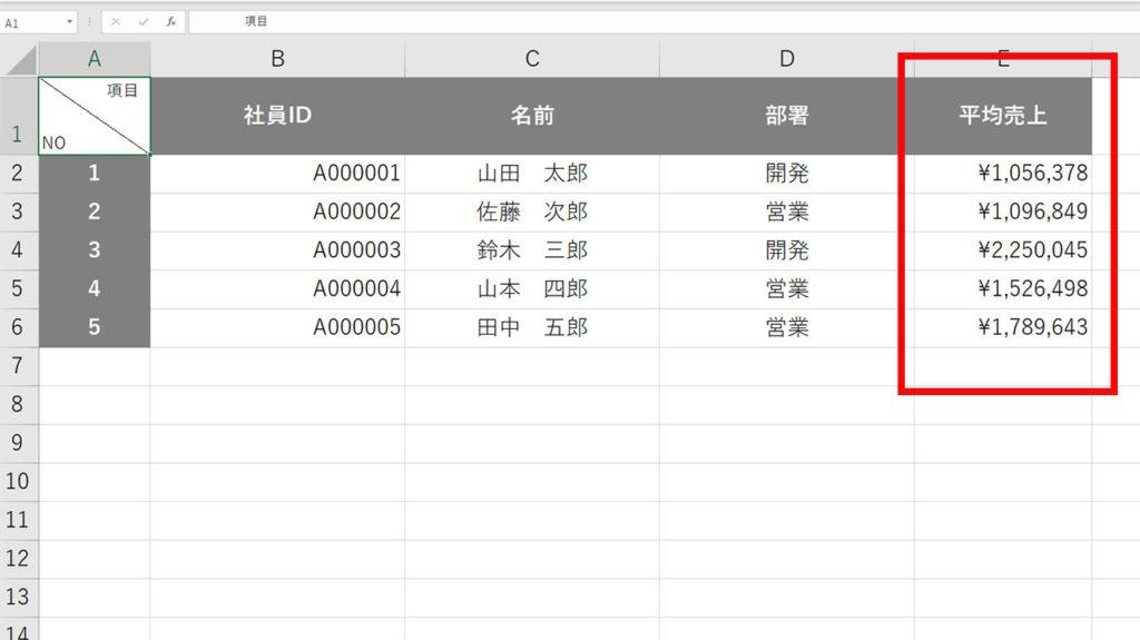 数値が大きい順に並べ替える方法|Excel(エクセル)の使い方 vol.030