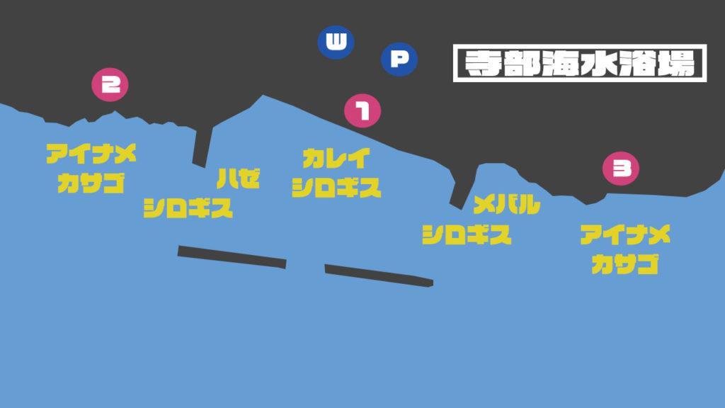 寺部海水浴場の釣り場情報