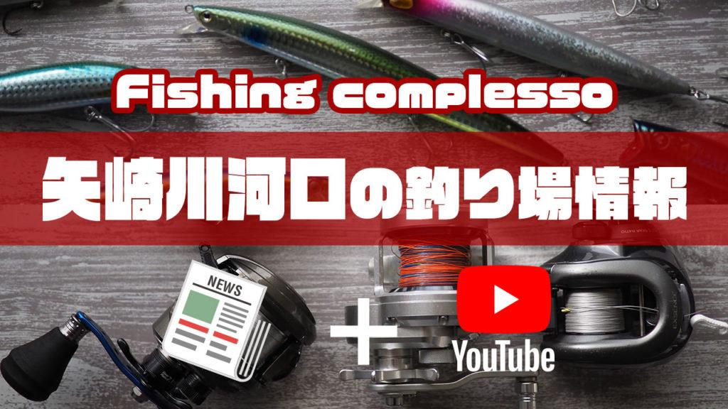 矢崎川河口の釣り場情報【Fishing complesso 愛知県の釣り場情報】
