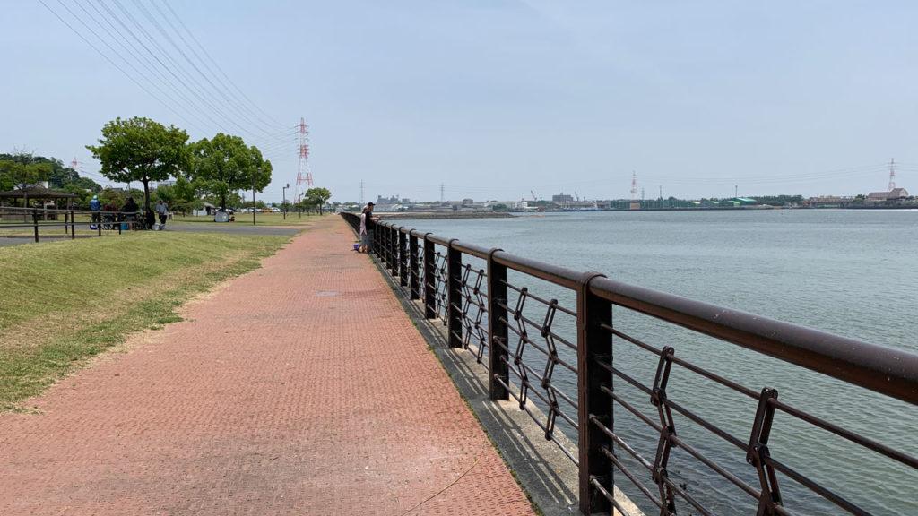 亀崎海浜緑地の釣り場情報【Fishing complesso 愛知県の釣り場情報】