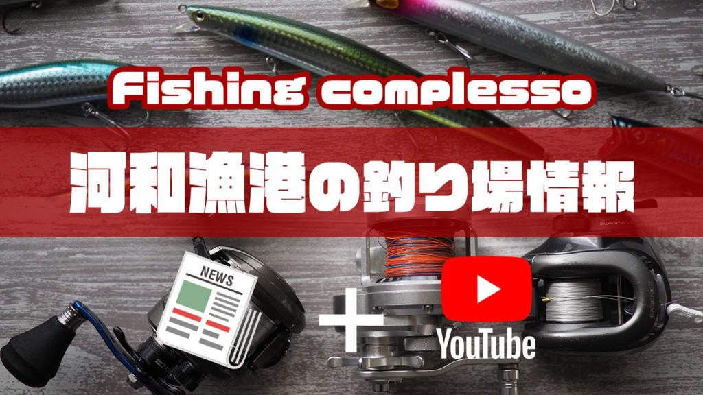 河和漁港の釣り場情報【Fishing complesso 愛知県の釣り場情報】
