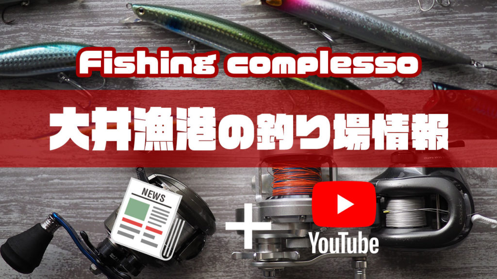 大井漁港の釣り場情報【Fishing complesso 愛知県の釣り場情報】