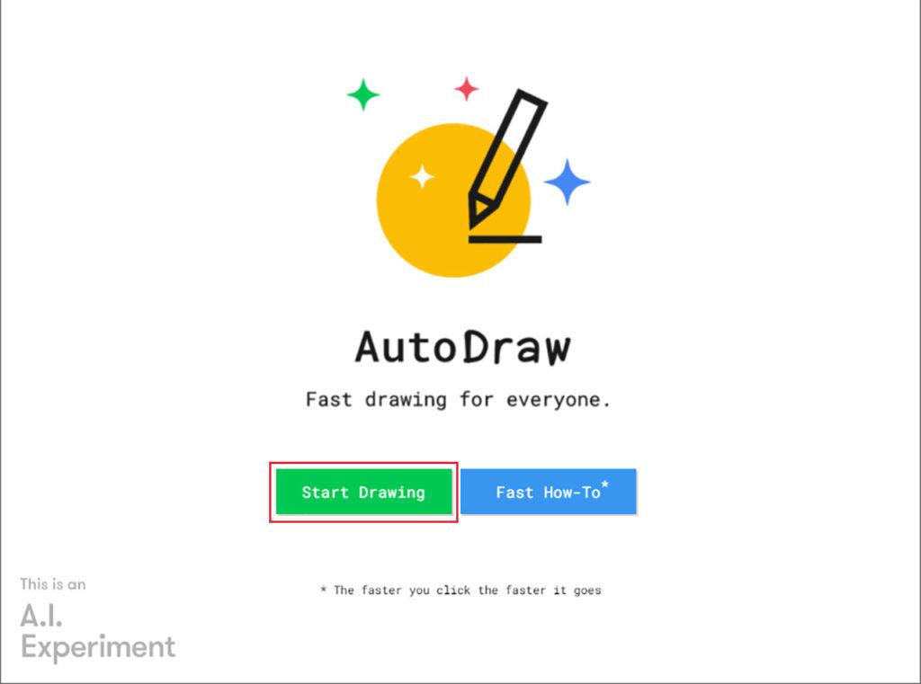 GoogleのAutoDrawは絵心なしでもイラストがスイスイかけちゃう!
