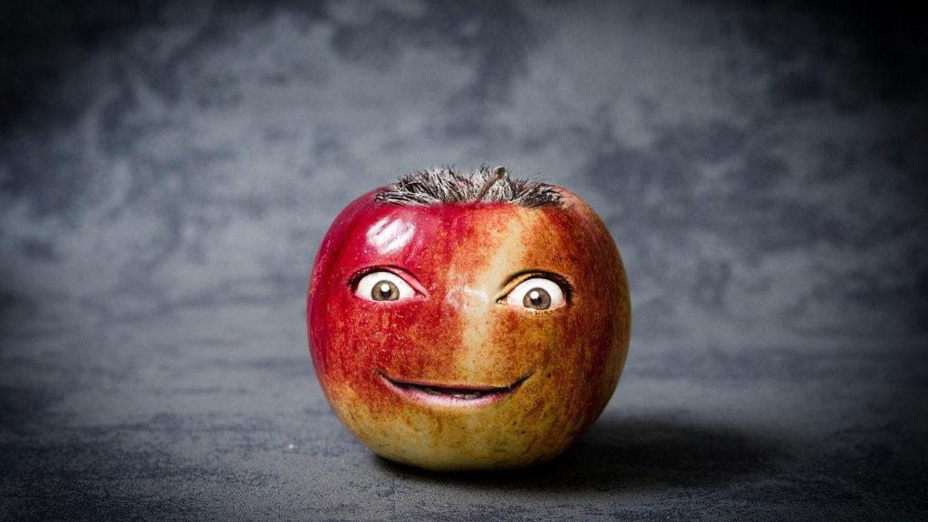 腐ってるリンゴの特徴